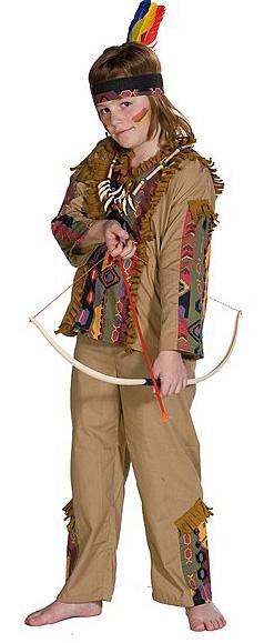 Kostýmy - Navajo - kostým indiána D