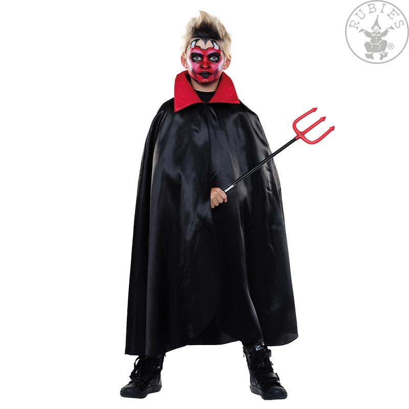 Kostýmy - Plášť čert s límcem
