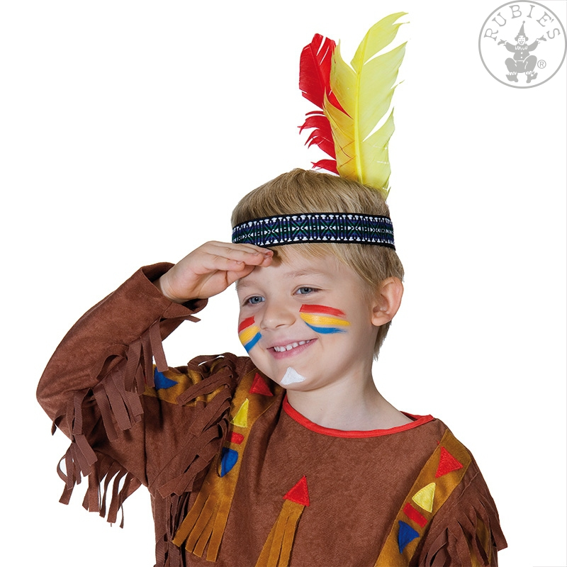 Čelenky a ozdoby hlavy - Indiánská čelenka malá