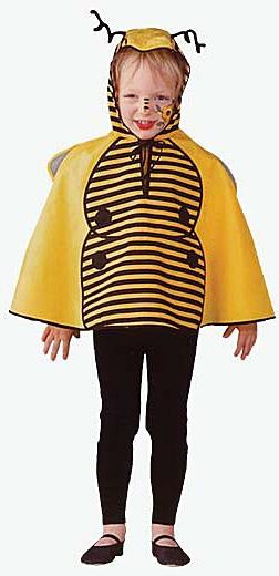 Kostýmy na karneval - Včelka pelerína 92 D