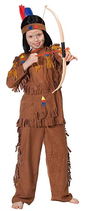 Kostýmy - Indián - kostým D