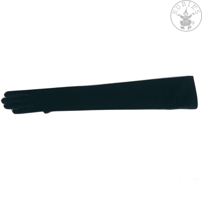 Doplňky - Rukavice hladké dlouhé černé