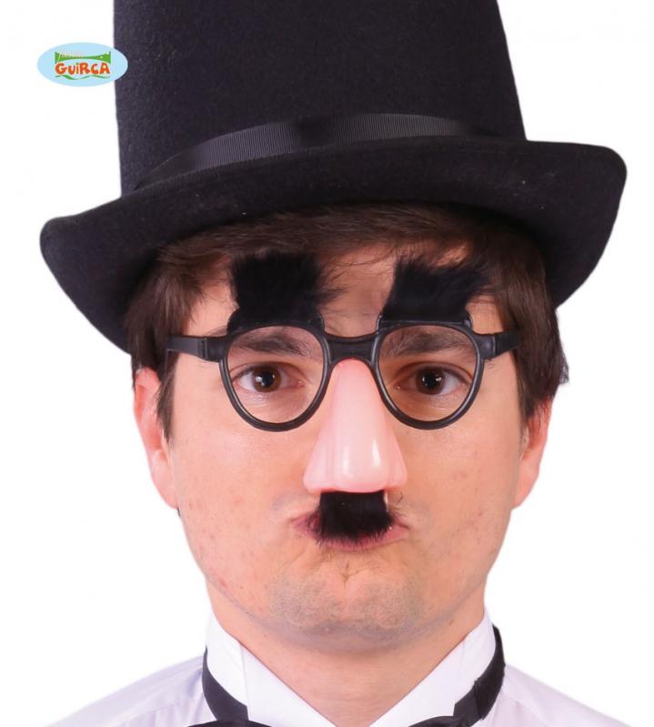 Doplňky - Brýle s nosem a vousy