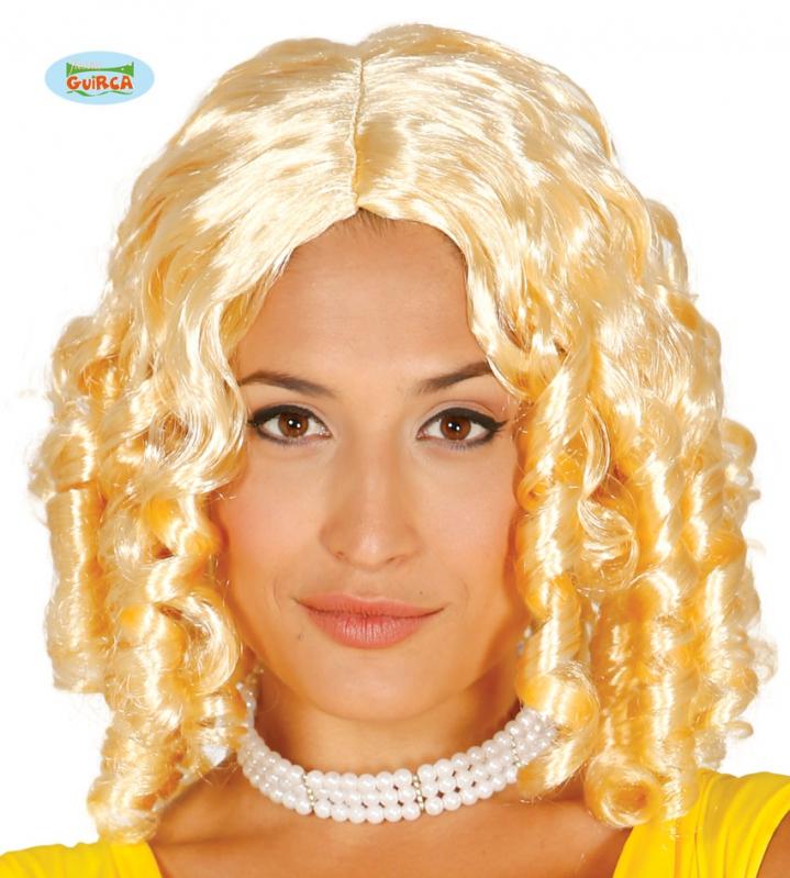 Paruky - Paruka Tire - Bouchon blond