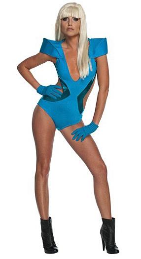 Kostýmy - Kostým Lady Gaga Poker Face Video Swim Suit  - licenční kostým D