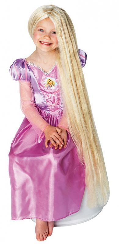 Paruky - Paruka Rapunzel - dětská paruka - licence