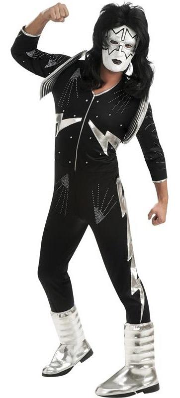 Kostýmy - KISS Deluxe The Spaceman - licenční kostým D