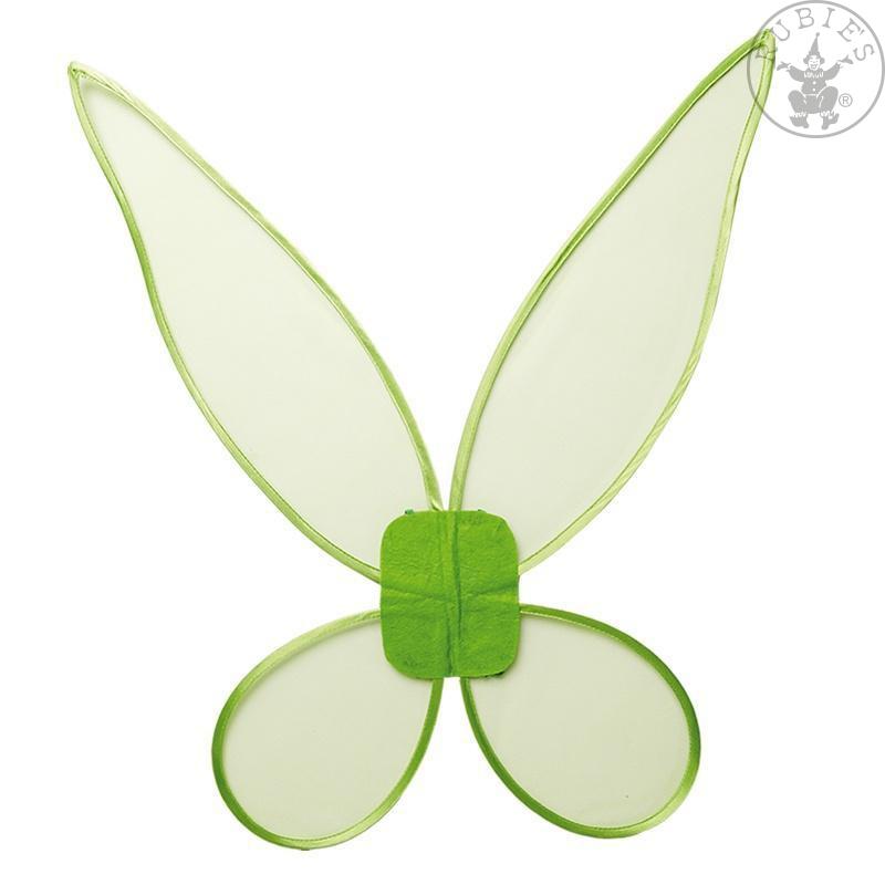 Doplňky - Zelená křídla velká