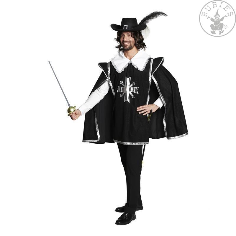 Kostýmy na karneval - Mušketýrský plášť