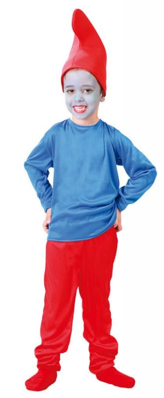 Kostýmy - Taťka Modrý skřítek -  D