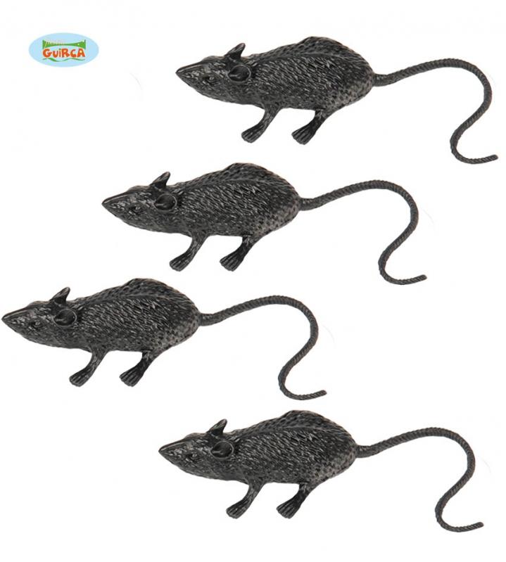 Doplňky dle zaměření - Set krysy 6 cm 4 ks