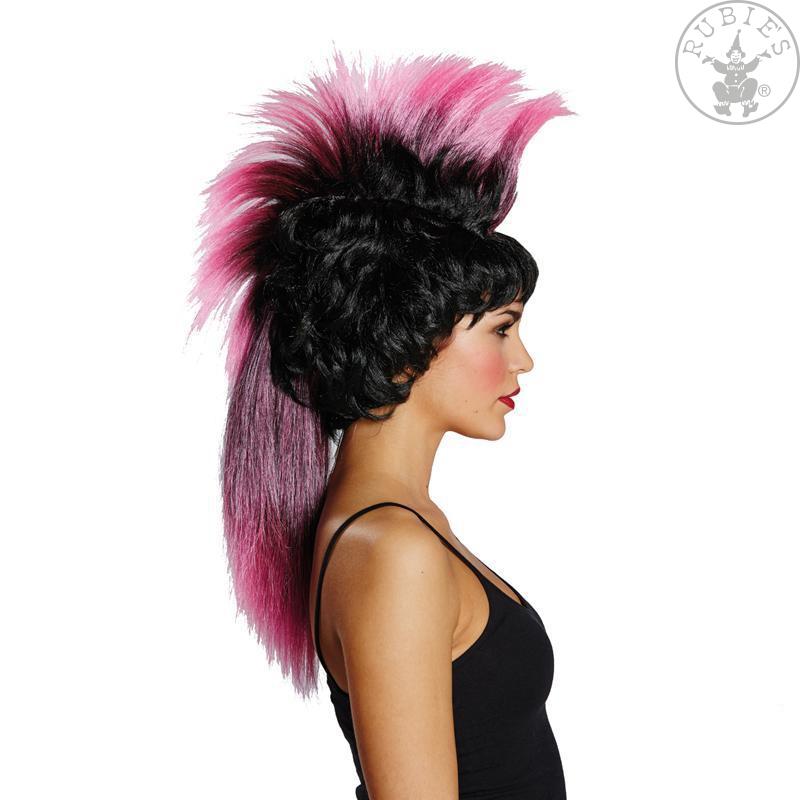Paruky - Iro Wig schwarz-pink - paruka