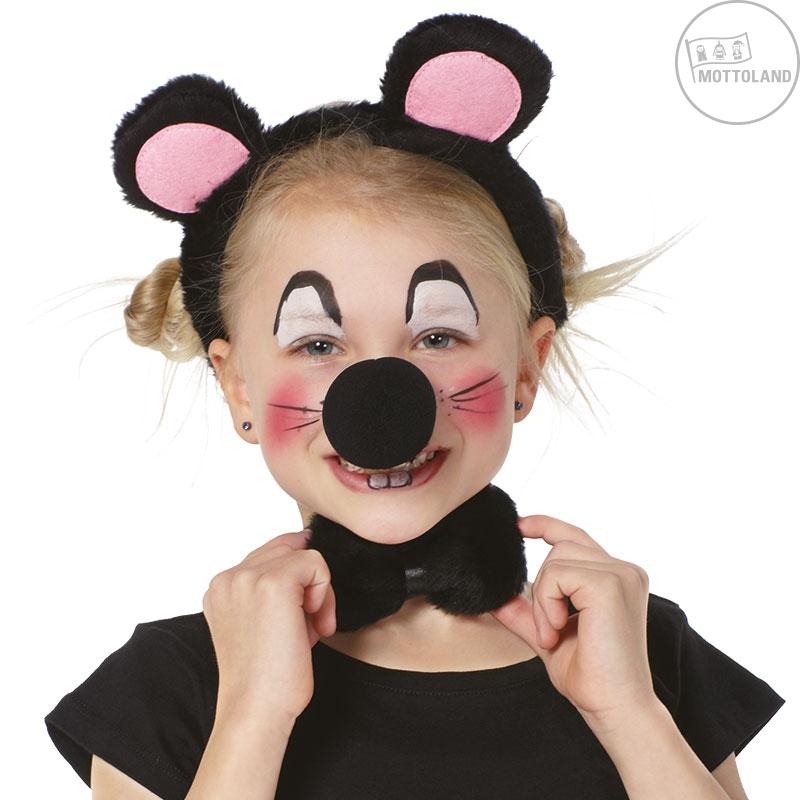 Čelenky a ozdoby hlavy - Dětský set myška