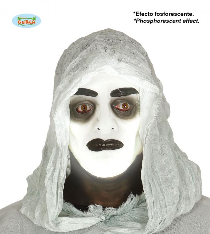 Masky - Fluoreskující maska ducha - ON
