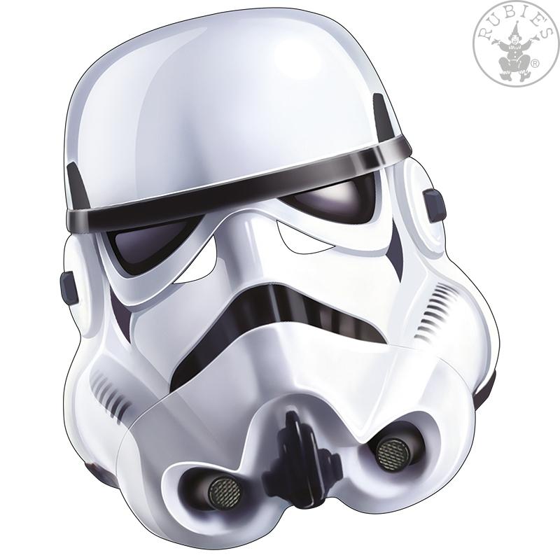 Masky - Stormtrooper - kartonová maska