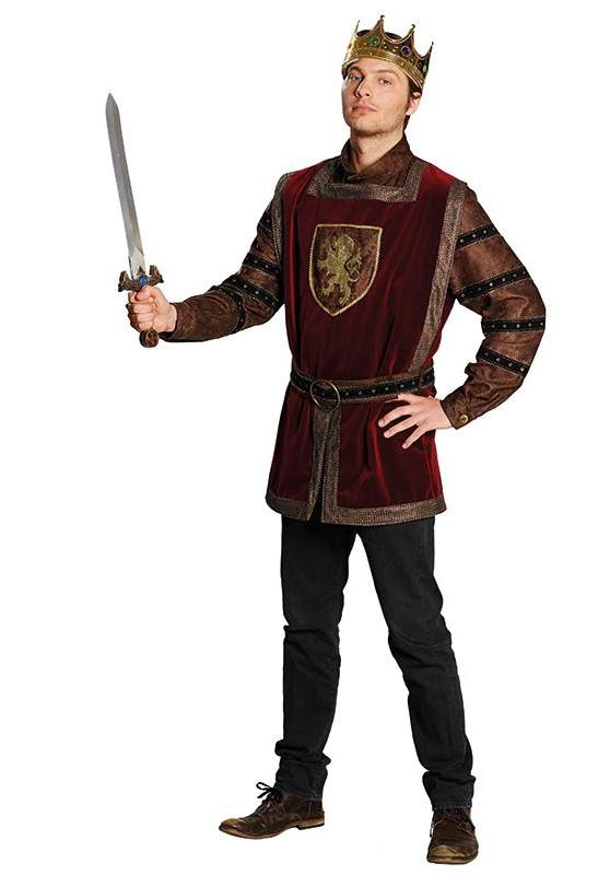 Kostýmy na karneval - Král Arthur - horní díl X