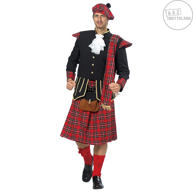 Kostýmy na karneval - Kostým Skota s taškou D