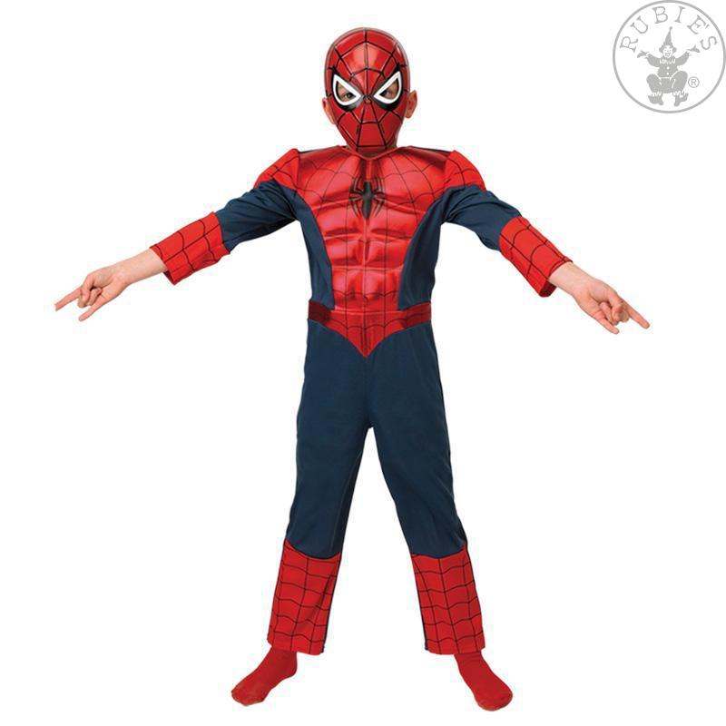 Kostýmy - Ultimate Spiderman Deluxe Metalic dětský kostým