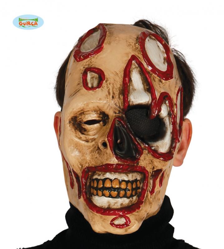 Masky - Maska zombie se skvrnami