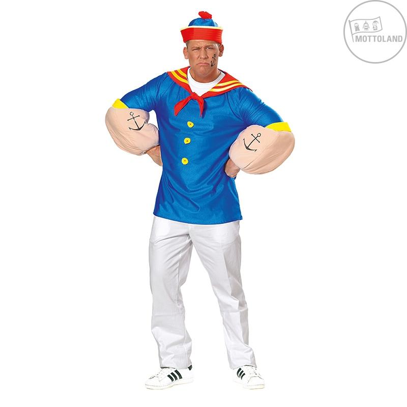 Kostýmy - Pepek námořník