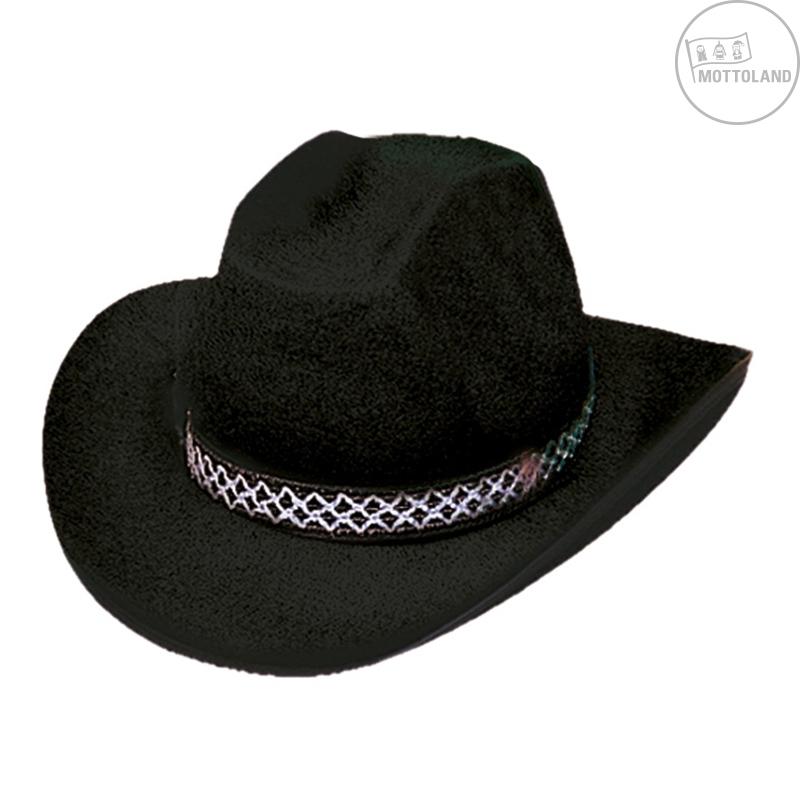 Klobouky a čepice - Kovbojský klobouk DALLAS černý