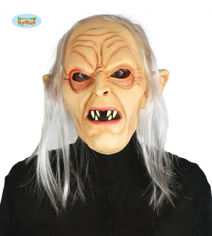 Karnevalové masky, latexové masky - Maska horor skřet