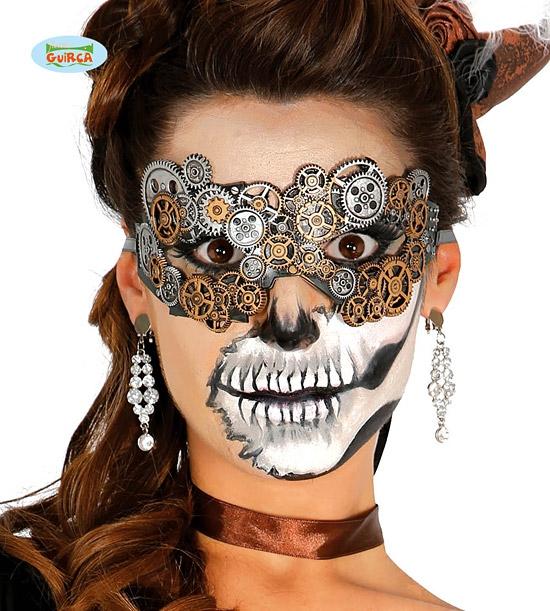 Karnevalové masky, latexové masky - Škraboška halloween