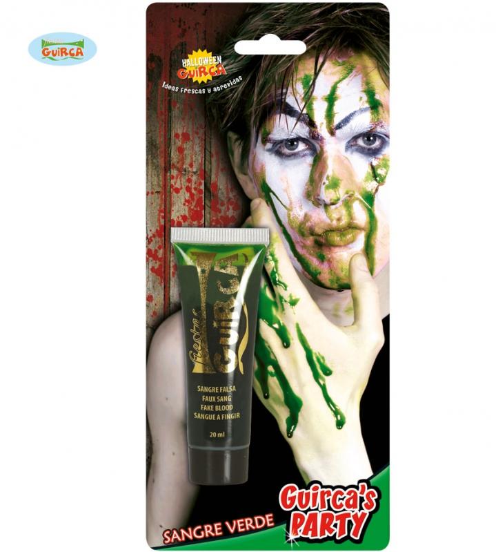 Líčidla a kosmetika - Krev v tubě zelená