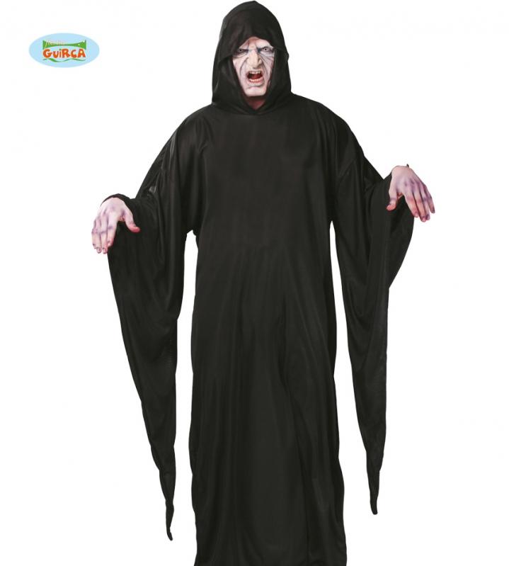 Kostýmy - Tunika s kapucí černá