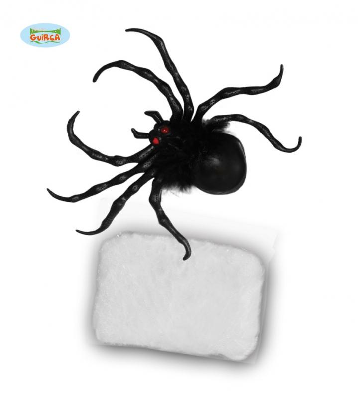 Doplňky - Pavouk s pavučinou