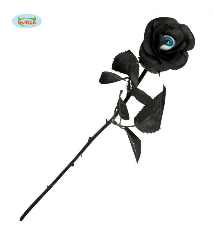 Doplňky - Černá růže s okem
