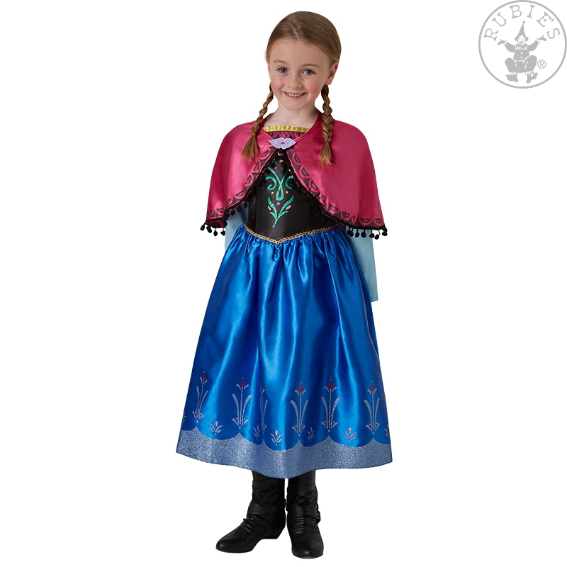 Kostýmy - Anna Deluxe Frozen Child - licence