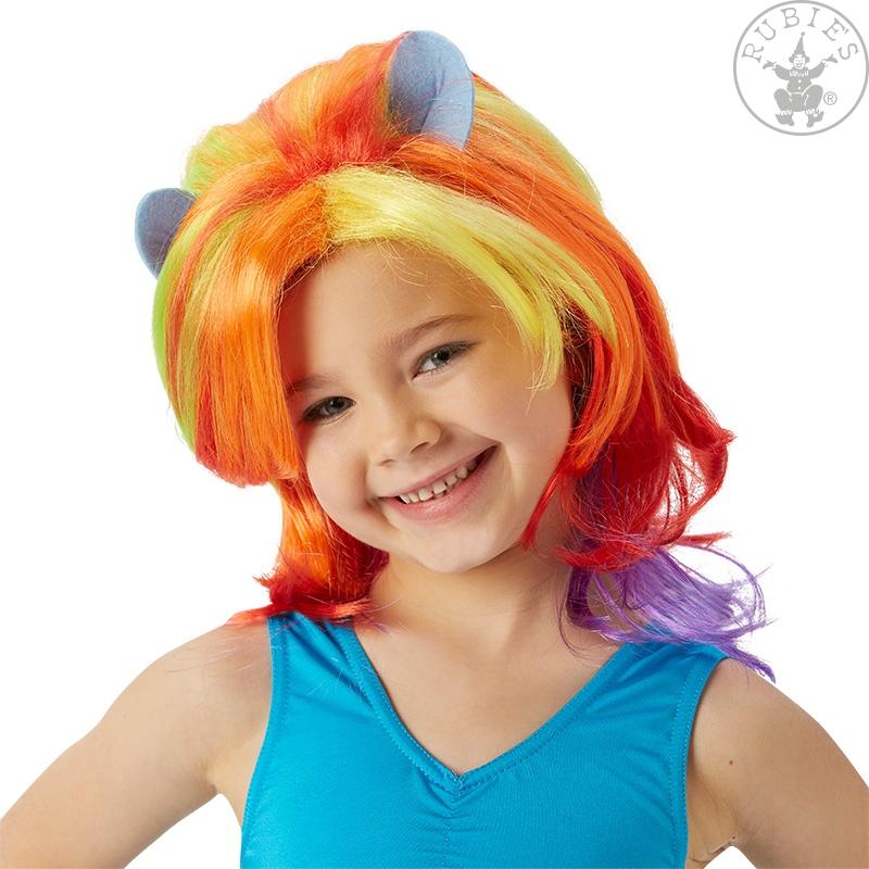 Paruky - MLP Rainbow Dash Wig - dětská paruka - licence