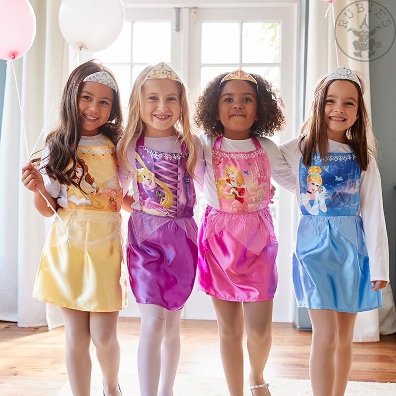 Kostýmy na karneval - Dětské párty Disney Princess Party Pack