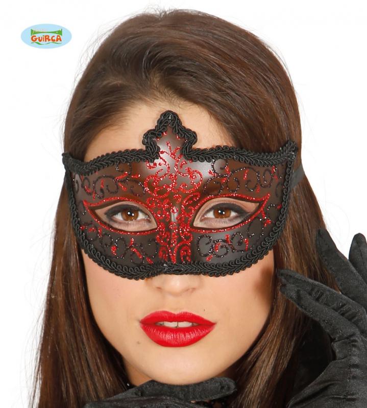 Masky - Maska dámská červená