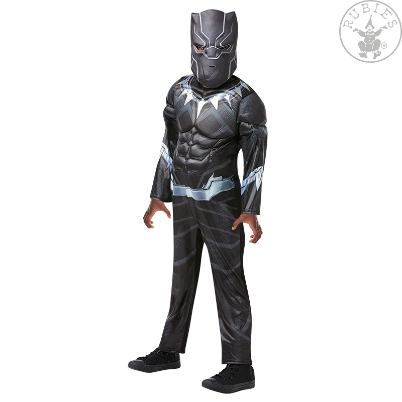 Kostýmy - Black Panther Avengers Assemble Deluxe - Child