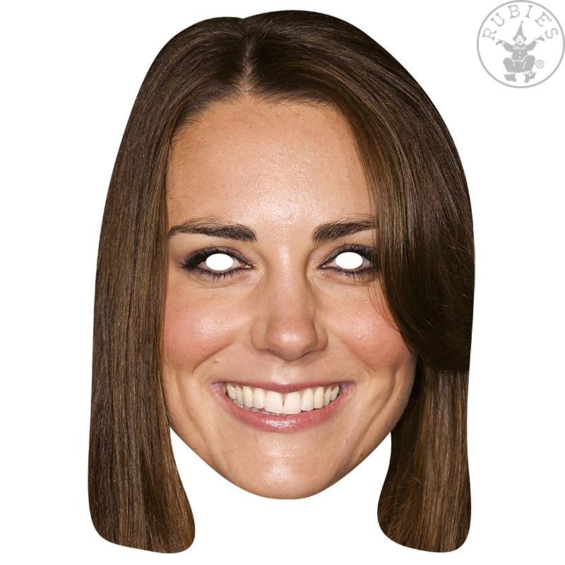 Masky - Princezna Catherine - kartonová maska pro dospělé