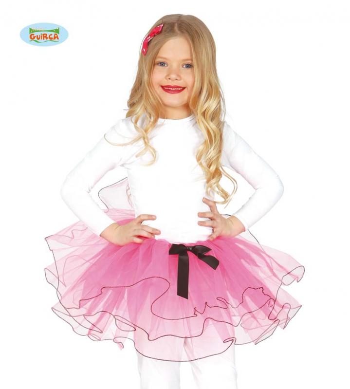 Kostýmy - Dětská TuTu sukýnka růžová
