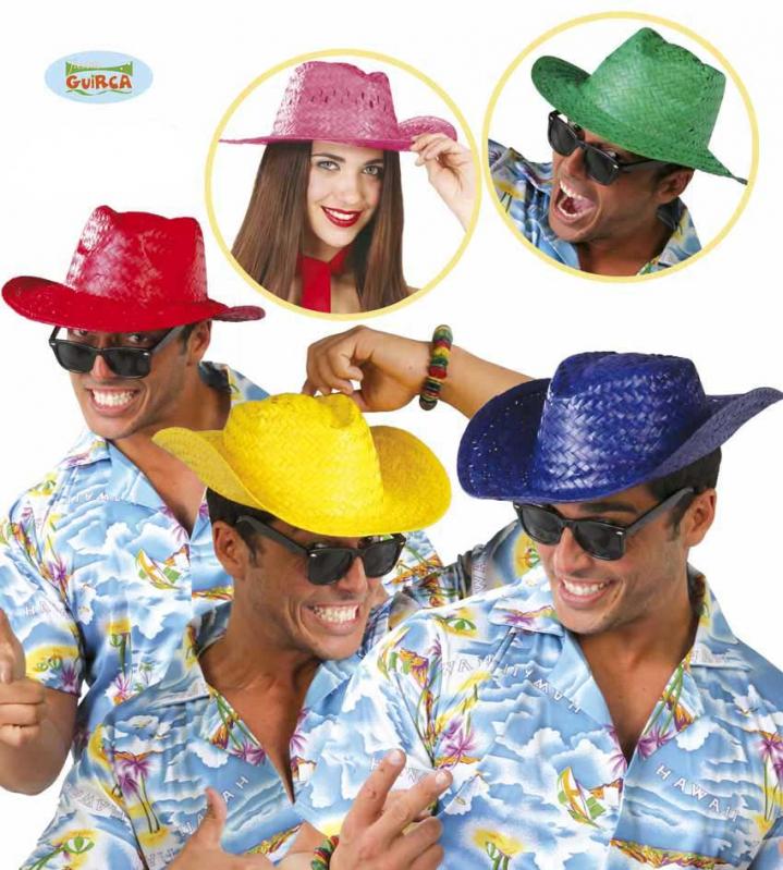 Klobouky a čepice - Letní klobouk červený