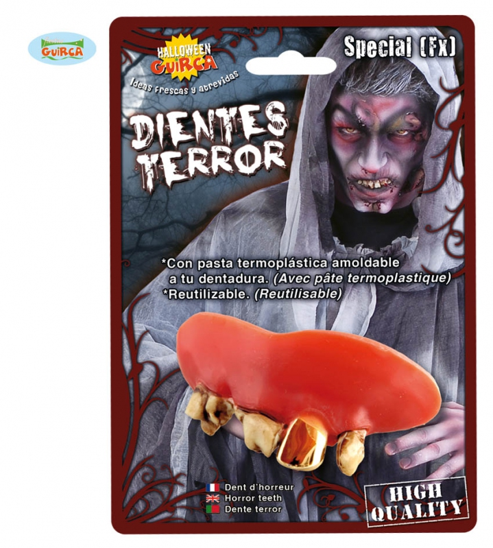 Doplňky - Monster ZL - zuby s termoplastickou hmotou