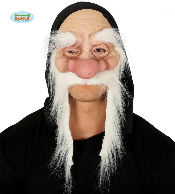 Masky - Maska skřítek s obočím a vousy