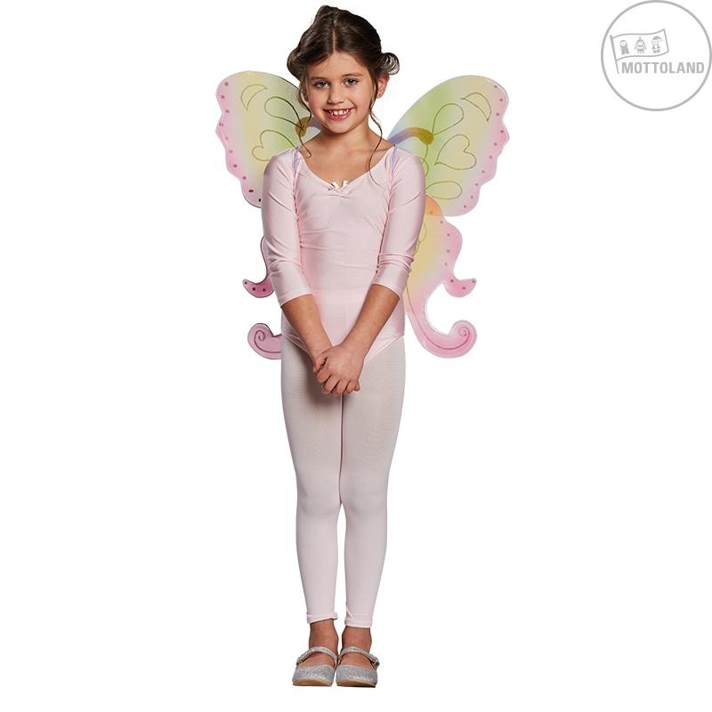 Doplňky - Dětská motýlí křídla duhová