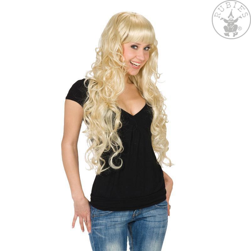 Paruky - Paruka Lockenpracht blond
