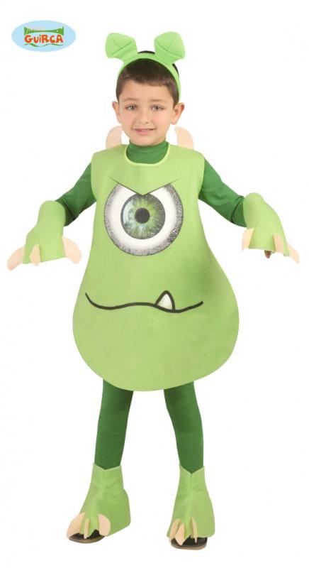 Kostýmy na karneval - Kostým na karneval zelené  monstrum