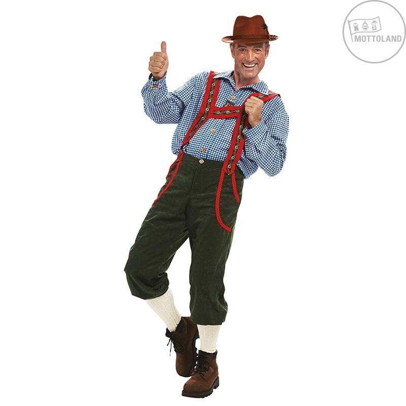 Kostýmy - Tyrolské kalhoty dlouhé