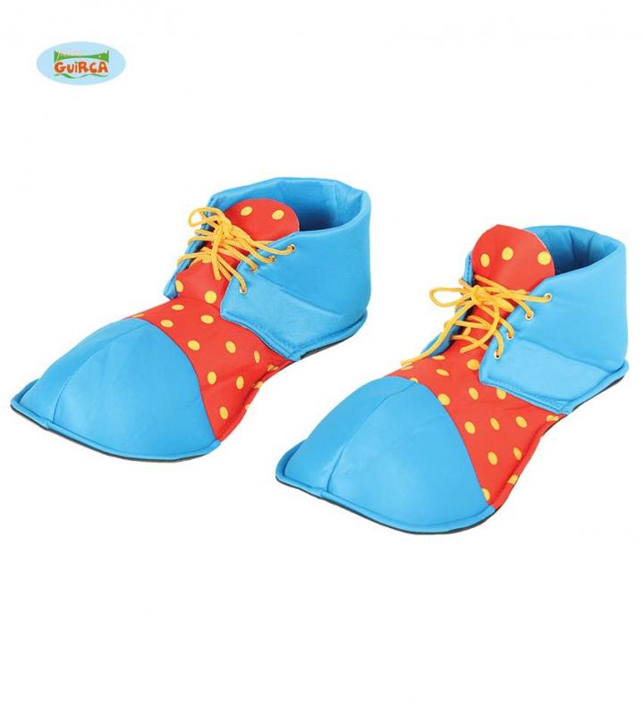 Doplňky - Klaunské boty červeno-modré