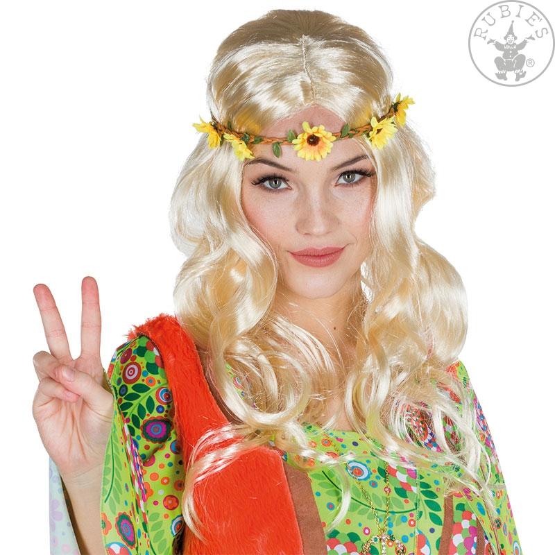 Paruky - Dámská paruka hippie blond