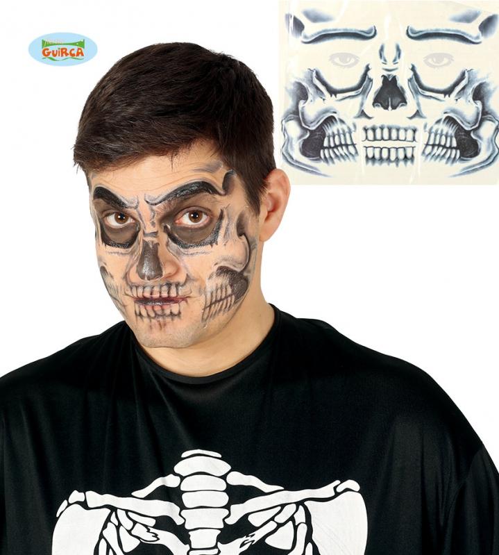 Doplňky dle zaměření - Tetování na obličej - smrtka