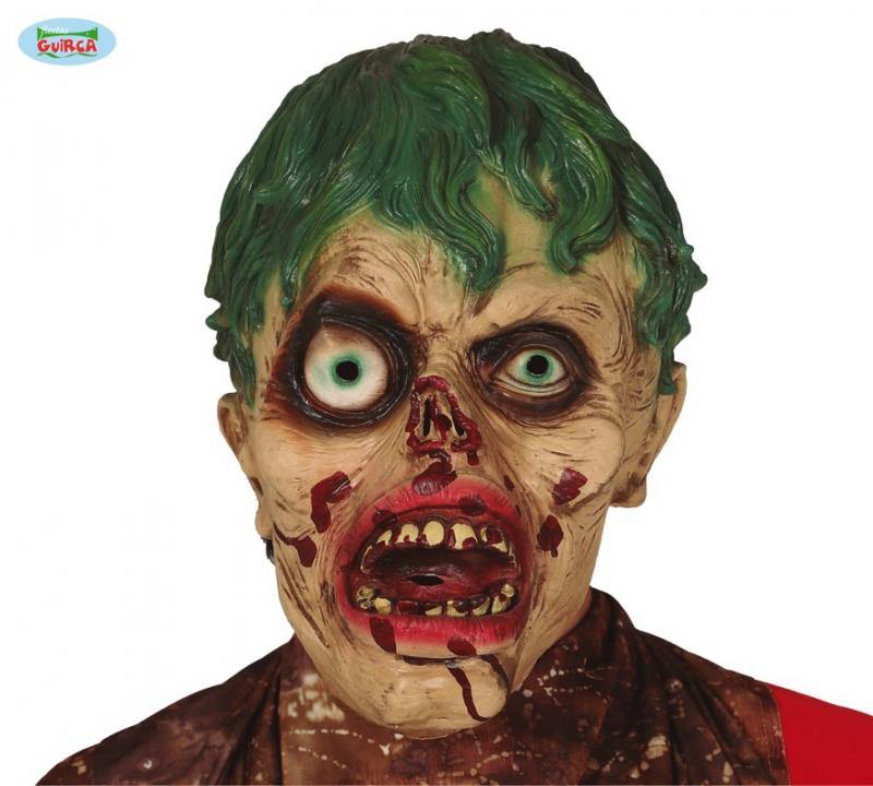Karnevalové masky, latexové masky - Latexová maska zombie