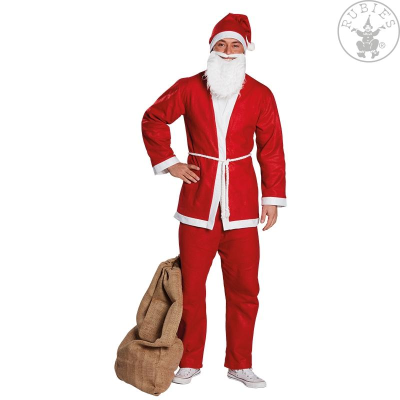Kostýmy - Oblek Santa s čepičkou